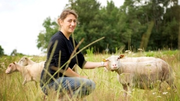 Florence Gandré, Jeunes agriculteurs