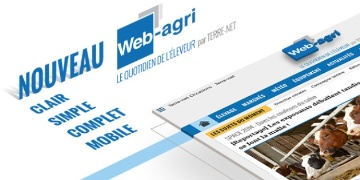 Nouvelle version du site Web-agri.fr