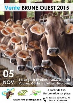 Vente FBO le 5 novembre, � Etrelles (Ille-et-Vilaine)