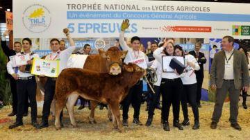 Les Corr�ziens remportent le Troph�e national des lyc�es agricoles