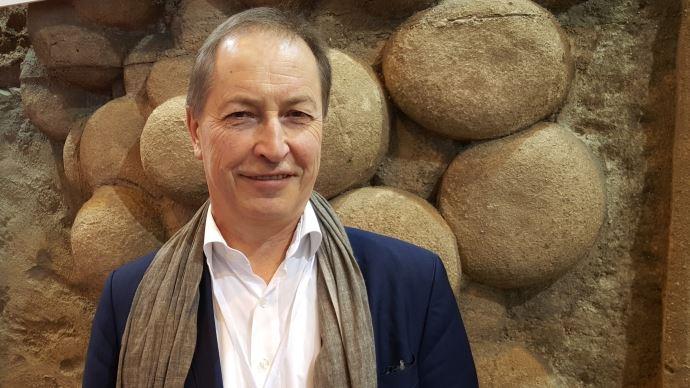 Christian Pèes, président d'Euralis et du think tank Momagri