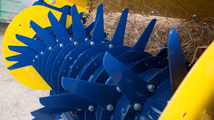 Le rotor de la Warzée DE651
