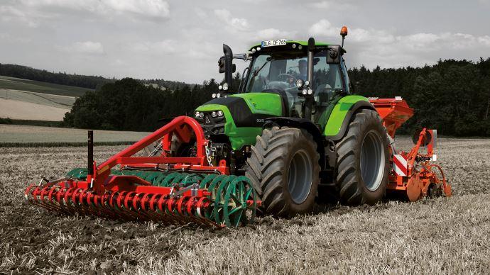 La cote agricole d'occasion tracteur - Deutz-Fahr 6160, le confort de la boîte Senseshift
