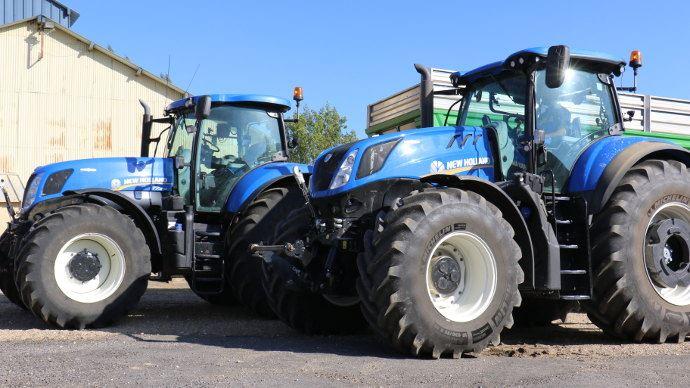 [Vidéo Essai Tracteur] - Comparatif tracteur: New Holland T7 contre New Holland T7 HD