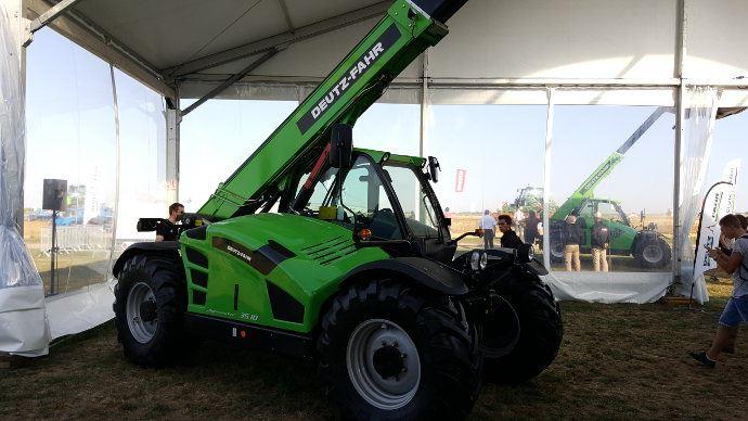 Télescopiques agricoles - Deux nouveaux modèles d'Agrovector Deutz-Fahr