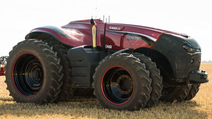 Tracteur Case IH autonome
