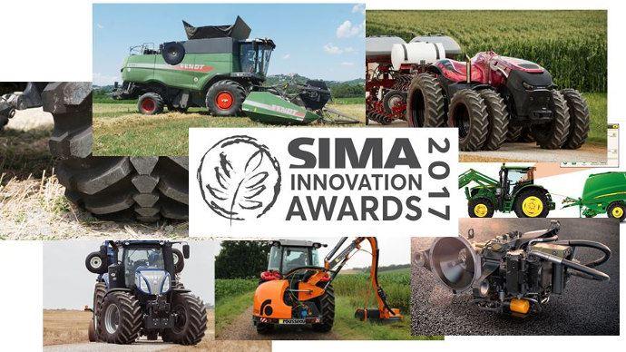 Les 25 médailles des Sima Innovation Awards 2017 en direct