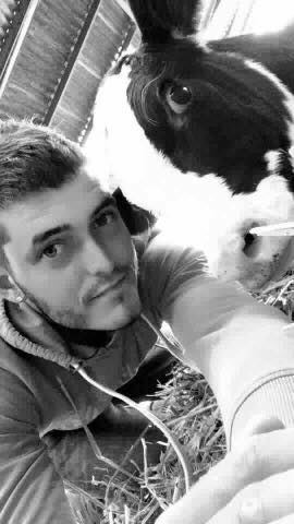 Fabien, salarié agricole en Normandie