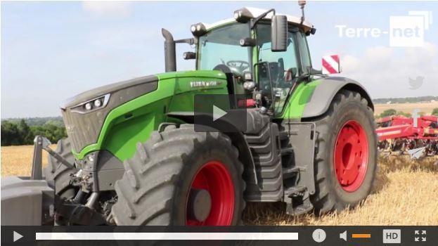 Le tracteur Fendt 1000 Vario débarque enfin en France!