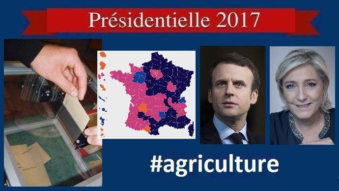 Réactions d'agriculteurs et résultats par département, commune et région