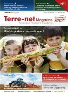 Lancement de Terre-net Magazine : Terre-net Mdia investit le vecteur papier !