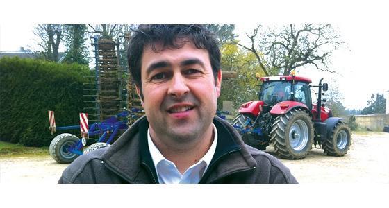 Essai Terre � Terre 2011 - Autoguidage Case IH/ S�bastien Olivier � Aujourd'hui, j'estime que le Rtk est un besoin r�el pour moi ! �