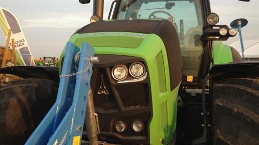 L'Agrotron 7250 Ttv tranche par son design
