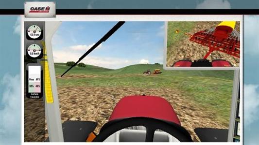 Jeu test Case IH : êtes-vous aussi efficace qu'un tracteur autoguidé ?