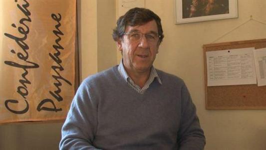Philippe Collin, porte-parole de la Confédération paysanne