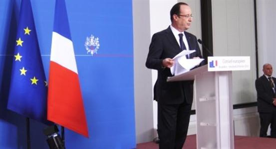 Franois Hollande au Conseil europen