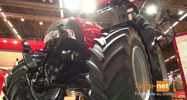 Disponible sur des tracteurs de 110 à 370 ch chez Case IH