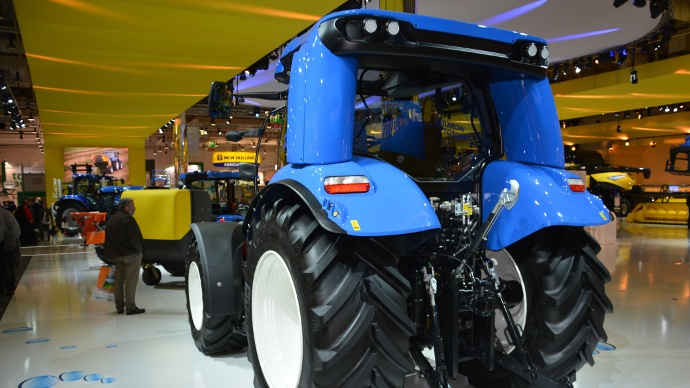 Tracteur New Holland T6 Méthane Power