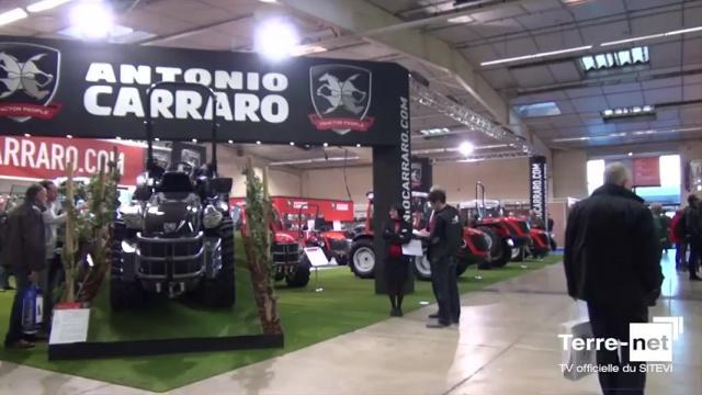 Le Mach 4 attire toujours autant les visiteurs sur le stand Antonio Carraro