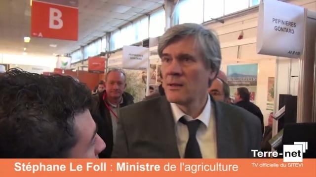 Stéphane Le Foll clôture la 26 édition du salon des filières vigne et vin