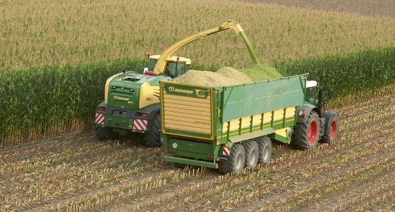 remorque Krone TX 560 D