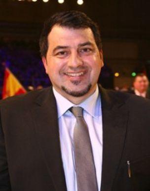 Jaume Serrabassa Vila juge du concours Red-holstein