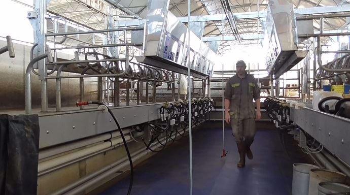 Salle de traite Xpressway de Boumatic