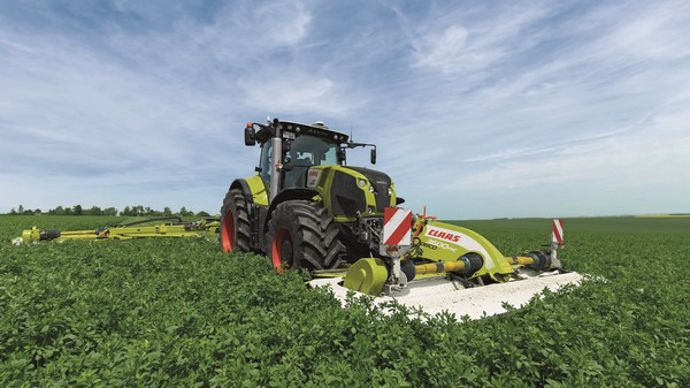 Claas-Axion 870