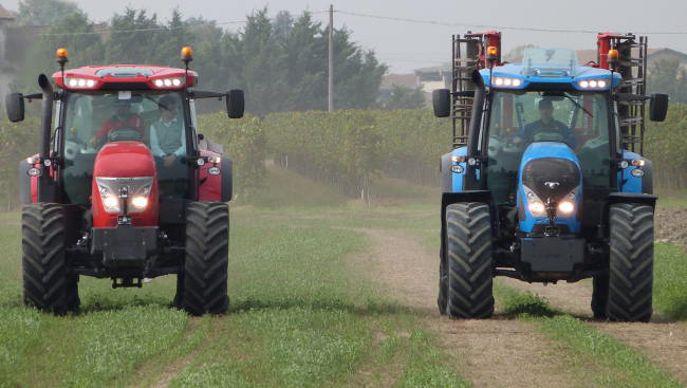 tracteur McCormick et landini