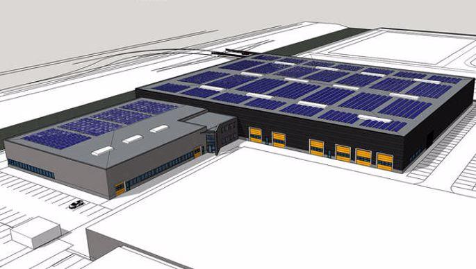 usine zuidberg à Ens (Pays-Bas)