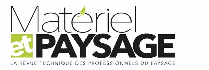 Nouveau logo de Materiel et Paysage