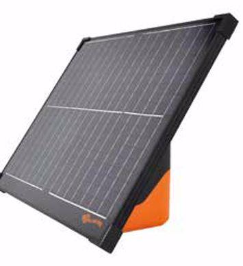 Capteur solaire cloture permanente