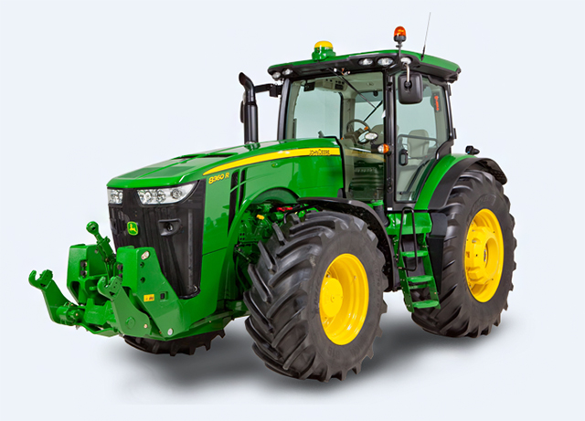 fiche technique tracteur john deere 8320r de 2014 mat riel agricole. Black Bedroom Furniture Sets. Home Design Ideas