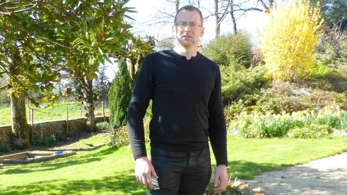 Vincent Manceau, polyculteur éleveur en Mayenne