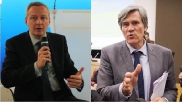 Bruno Le Maire et Stéphane Le Foll