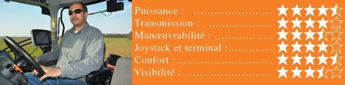 Critères d'évaluation de Thierry Rondeau.