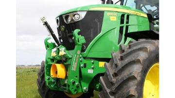 Des relevages avant Zuidberg pour les tracteurs John Deere 6RC