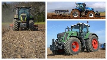 Trois tracteurs de plus de 230 chevaux à l'essai