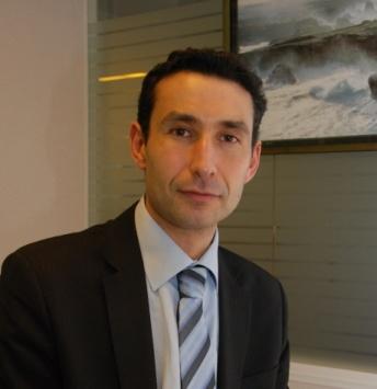 Karim Gaina, responsable marché agriculture au Crédit mutuel de Bretagne.