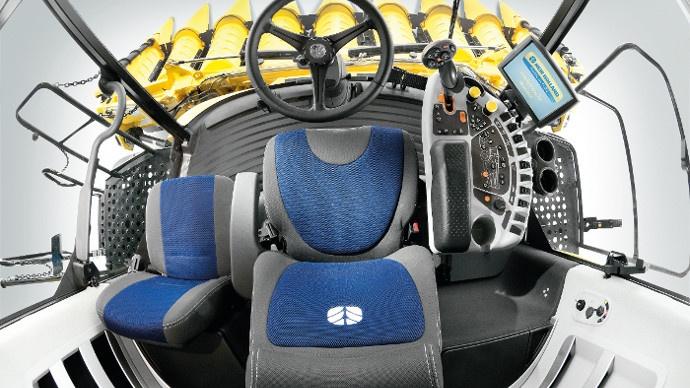 La cabine de la nouvelle CX est spacieuse et confortable.