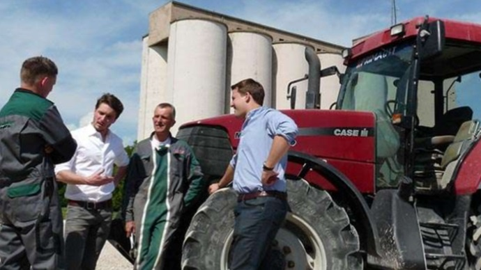 Les dirigeants d'Agriconomie.