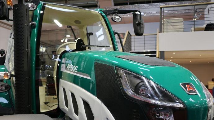 Premiers tracteurs Arbos lovol présentés en Europe