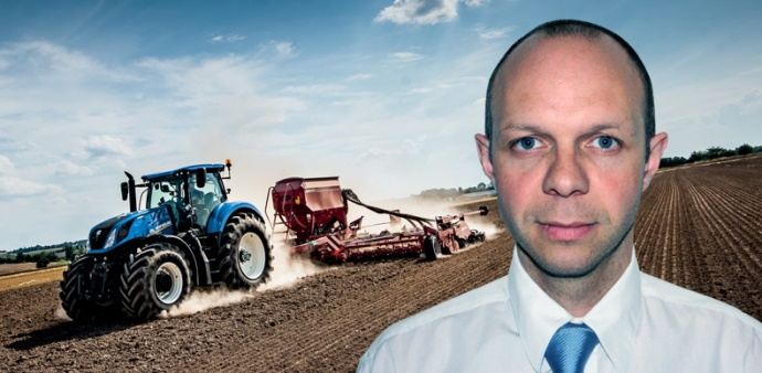 Olivier Le Flohic, responsable marketing et communication New Holland