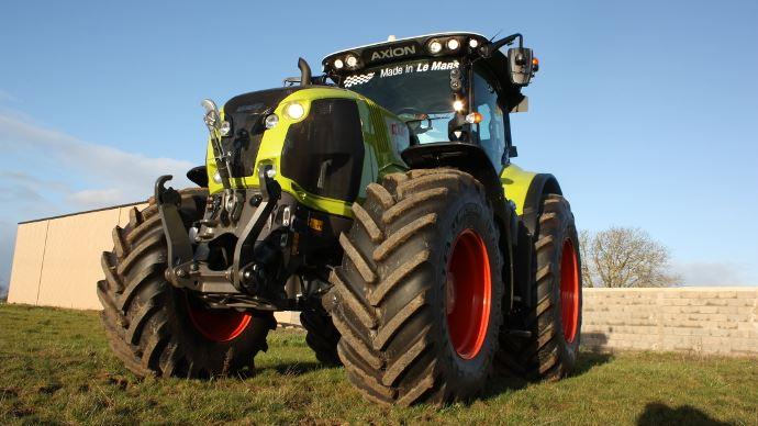 Le tracteur claas axion 870 l 39 essai en beauce - Image tracteur ...