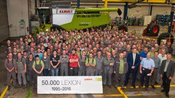 50000e Lexion, la Claas!