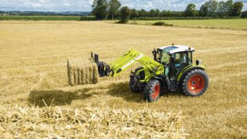 Claas Arion 400 : il a tout d'un grand !