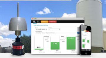 Ijinus, la mesure en temps réel des stocks d'aliments dans le silo