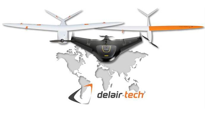 Delair-Tech achète Gatewing, la filiale drone de Trimble.
