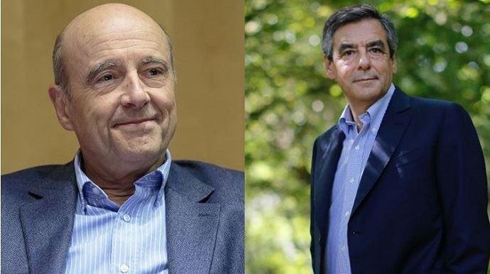 En tête dans les sondages, Alain Juppé a finalement recueilli 28,6%, loin derrière François Fillon, fort de 44,1% des suffrages du premier tour de la primaire de la droite et du centre, dimanche 20 novembre 2016.