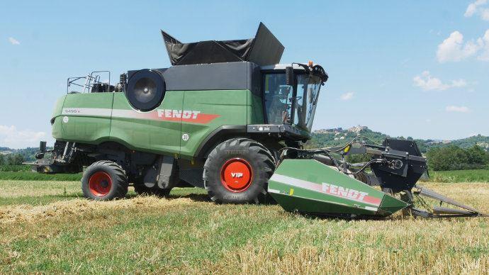 Trelleborg VIP: Limité les tassements de sols en variant automatiquement la pression des pneumatiques sur le engins de récolte